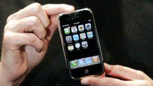 Das Ur-iPhone © Kimberly White / Reuters
